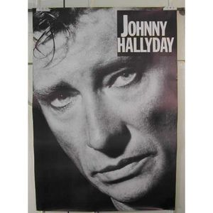 johnny hallyday poster achat vente johnny hallyday poster pas cher cdiscount. Black Bedroom Furniture Sets. Home Design Ideas