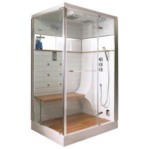 cabine de douche hammam achat vente cabine de douche hammam pas cher cdiscount. Black Bedroom Furniture Sets. Home Design Ideas