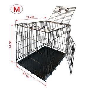 Cage chien achat vente cage chien pas cher les soldes sur cdiscount cdiscount - Cage pour chien xxl pas cher ...