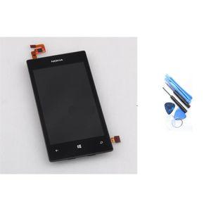 ECRAN DE TÉLÉPHONE VITRE TACTILE ECRAN LCD NOKIA LUMIA 520 NOIR + KIT
