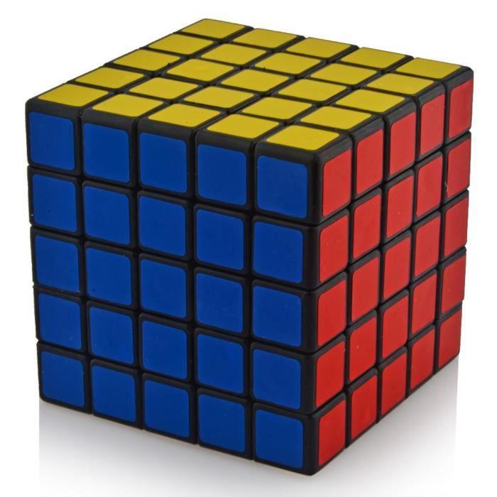 5 x 5 64 mm en plastique vitesse puzzle cube magique jouets ducatifs pour enfants enfants b b. Black Bedroom Furniture Sets. Home Design Ideas