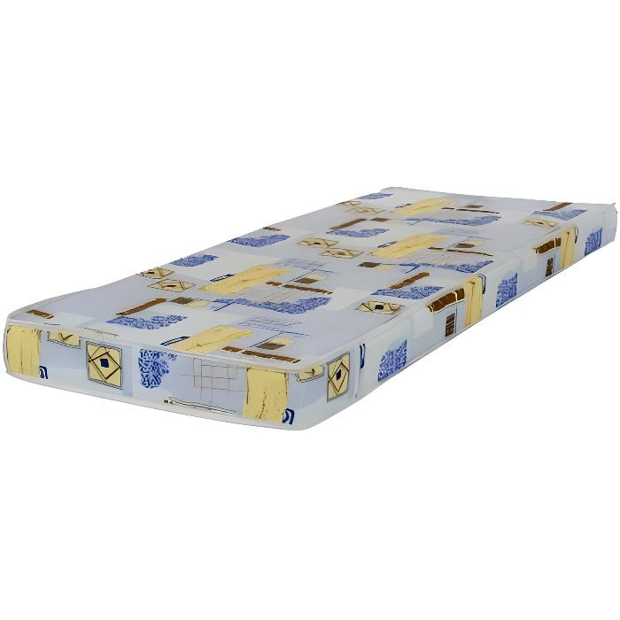 matelas chypre 80x190 en mousse couleurs des alpes achat vente matelas cdiscount. Black Bedroom Furniture Sets. Home Design Ideas