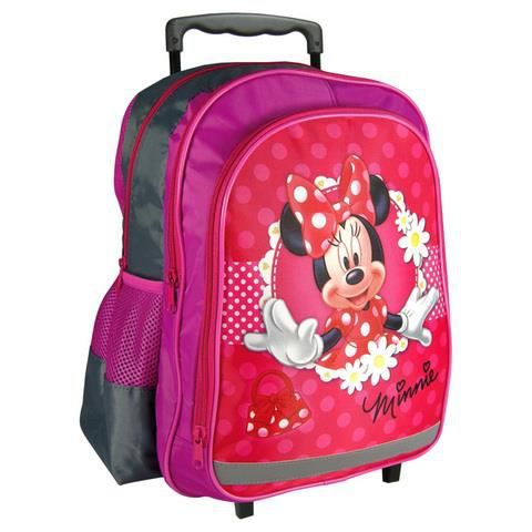 minnie mouse sac a roulette trolley sac a dos achat. Black Bedroom Furniture Sets. Home Design Ideas