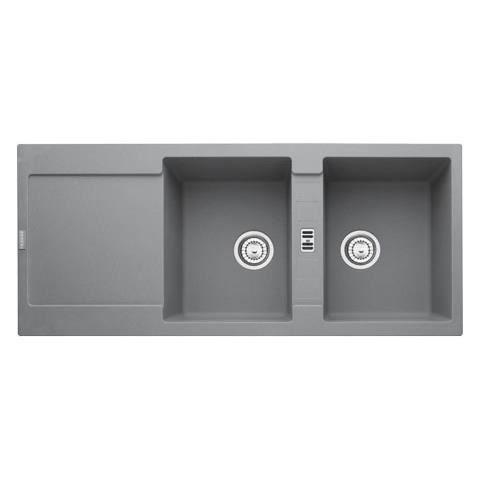 evier franke maris fragranit mrg221 stone 2 cuves achat vente robinetterie de cuisine. Black Bedroom Furniture Sets. Home Design Ideas