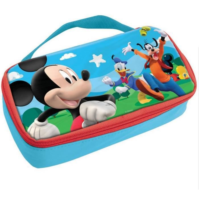sac go ter mickey isotherme bo te pochette sacoche disney enfant violet achat vente sac. Black Bedroom Furniture Sets. Home Design Ideas