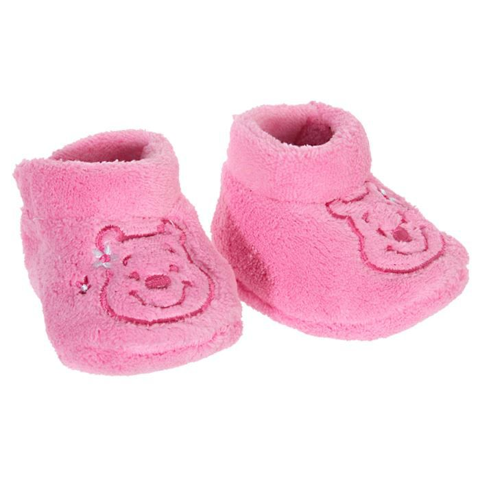 chaussons polaires b b fille t rose fonc achat