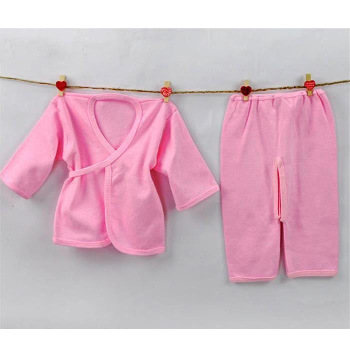 Moonar sous v tements b b nouveau n 0 3m cot rose achat vente chemise de nuit cdiscount - Elle ne porte jamais de sous vetement ...