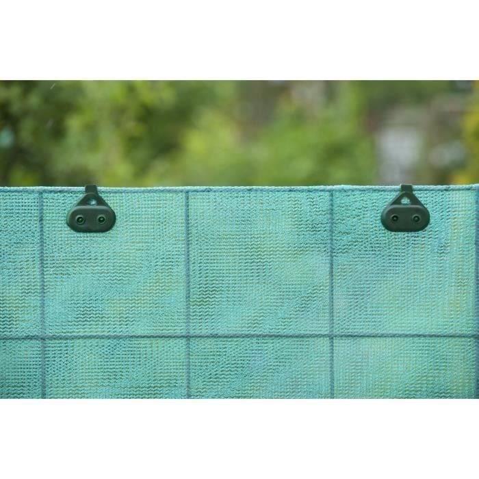 10 clips de fixation pour toile et filet achat vente for Toile verte pour jardin