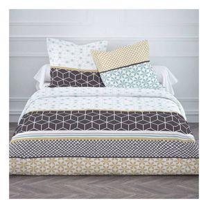 housse de couette motif geometrique achat vente housse de couette motif geometrique pas cher. Black Bedroom Furniture Sets. Home Design Ideas
