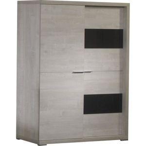 meuble bar avec rangement achat vente meuble bar avec rangement pas cher cdiscount. Black Bedroom Furniture Sets. Home Design Ideas
