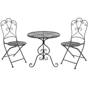 Table de jardin pliante 2 personnes achat vente table - Salon de jardin deux personnes ...