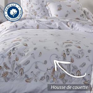 parure de drap percale achat vente parure de drap. Black Bedroom Furniture Sets. Home Design Ideas