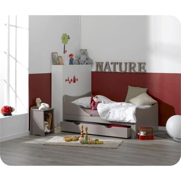 eb lit enfant volutif ivoo lin achat vente lit evolutif cdiscount. Black Bedroom Furniture Sets. Home Design Ideas