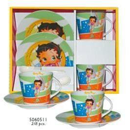 Set petit d jeuner betty boop achat vente bol mug for Set petit dejeuner porcelaine