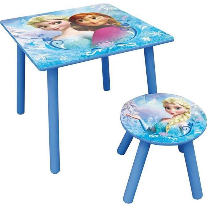 la reine des neiges table carr e cijep achat vente table jouet d 39 activit cdiscount. Black Bedroom Furniture Sets. Home Design Ideas