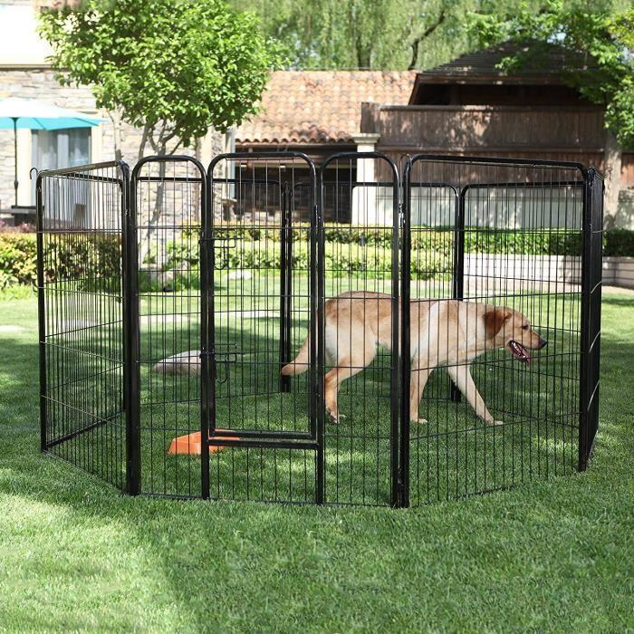 parc enclos pour chien achat vente parc enclos pour chien pas cher cdiscount. Black Bedroom Furniture Sets. Home Design Ideas