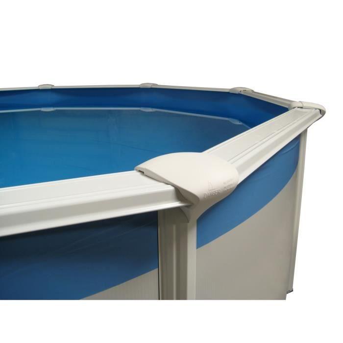 Gre liner 22 5 100 4 50 m hauteur 0 90 m pour piscine for Liner piscine diametre 3 50