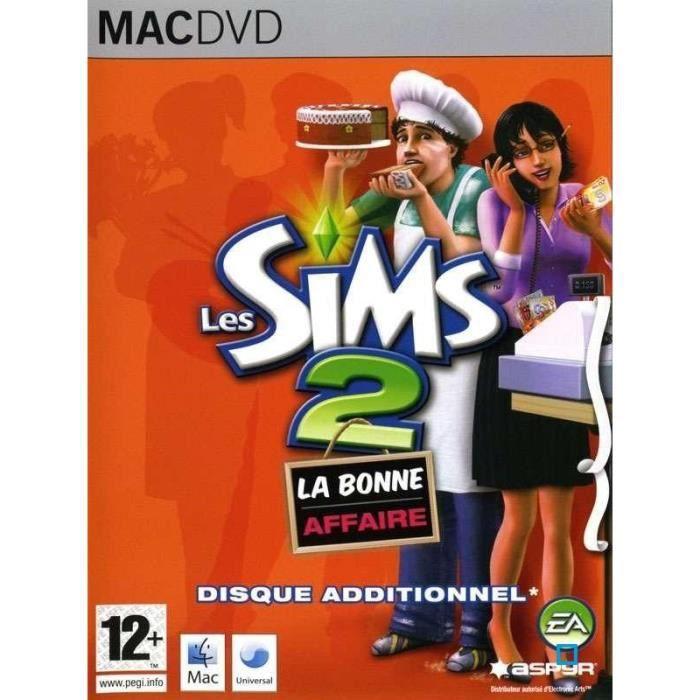 JEU PC Les Sims 2 La Bonne Affaire Jeu Mac