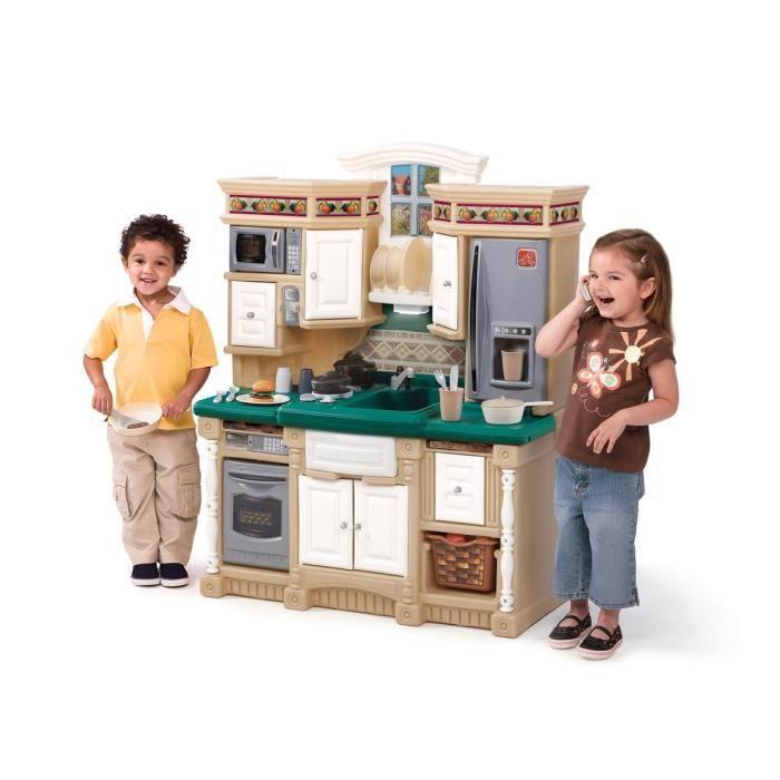 step 2 cuisine de r ve enfant achat vente dinette. Black Bedroom Furniture Sets. Home Design Ideas
