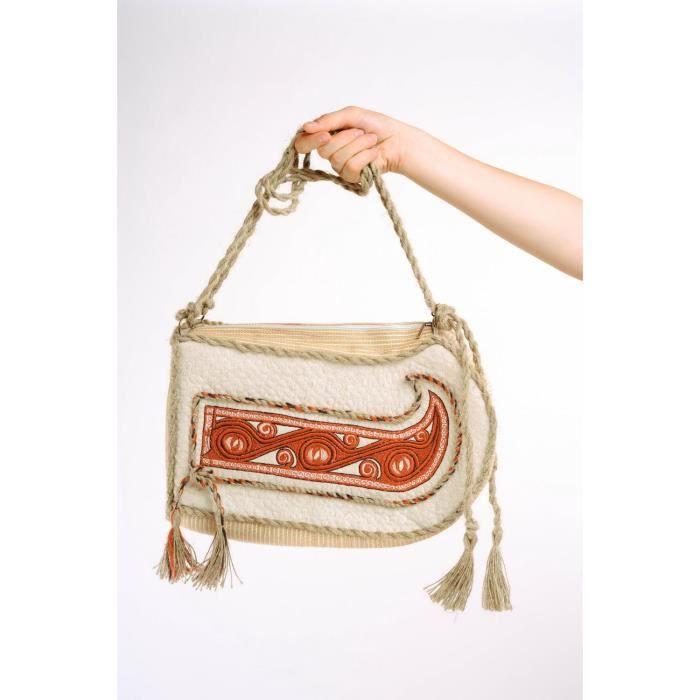 sac main b teau en tissu fait main accessoire femme achat vente sac gouter sac main. Black Bedroom Furniture Sets. Home Design Ideas