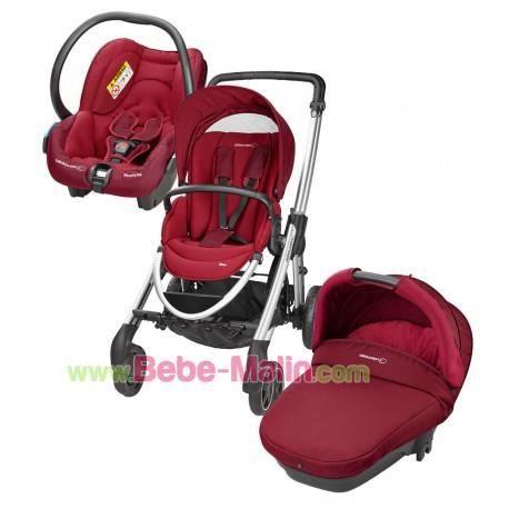 trio elea b b confort robin red achat vente. Black Bedroom Furniture Sets. Home Design Ideas