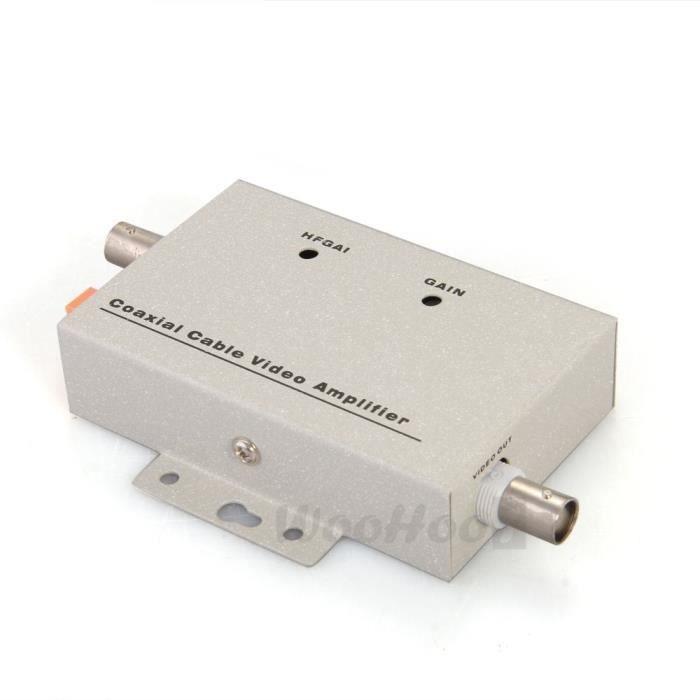 Amplificateur ampli signal vid o balun bnc coaxial cctv for Amplificateur de signal cellulaire maison