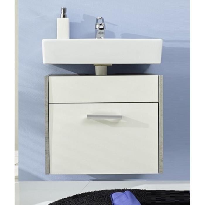 meuble sous vasque splash achat vente meuble vasque plan meuble sous vasque splash cdiscount. Black Bedroom Furniture Sets. Home Design Ideas