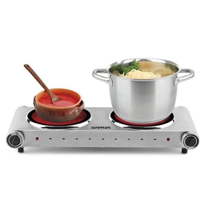 g10021 2600w table de cuisson avec deux plaques achat vente plaque posable cdiscount. Black Bedroom Furniture Sets. Home Design Ideas