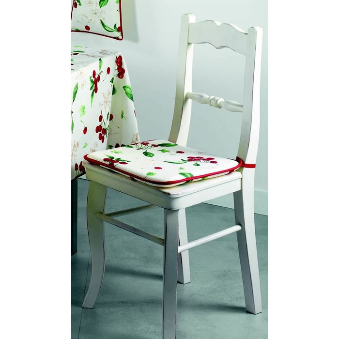 galette de chaise amarena coloris cru achat vente coussin de chaise cdiscount. Black Bedroom Furniture Sets. Home Design Ideas