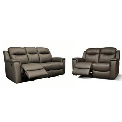 Canap s 3 2 places relax evasion en cuir choc achat vente canap sof - Cdiscount canape relax ...