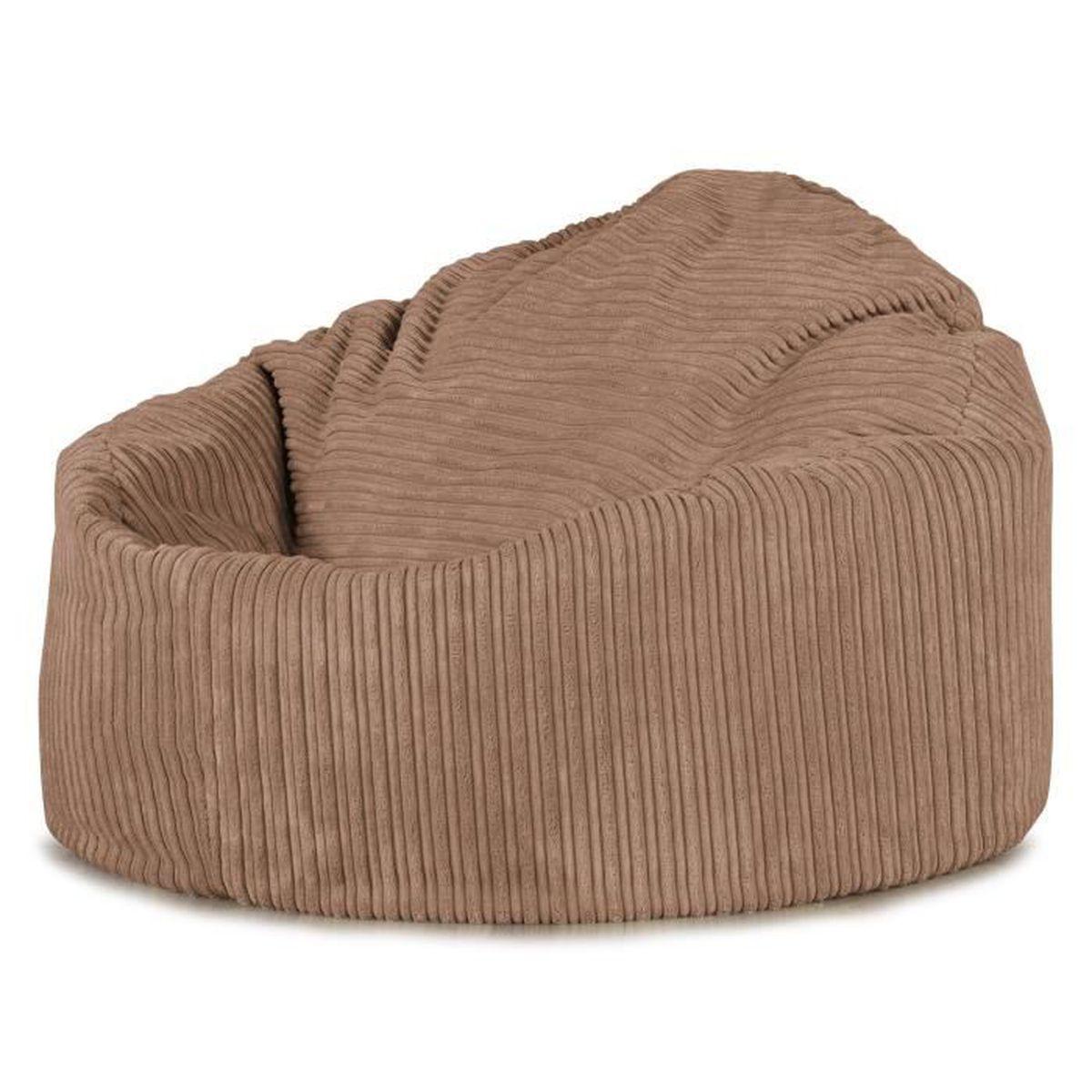 pouf poire petite mammouth sable achat vente pouf poire cdiscount. Black Bedroom Furniture Sets. Home Design Ideas