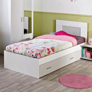 Lit tiroir tete de lit achat vente lit tiroir tete de - Creer une tete de lit pas cher ...