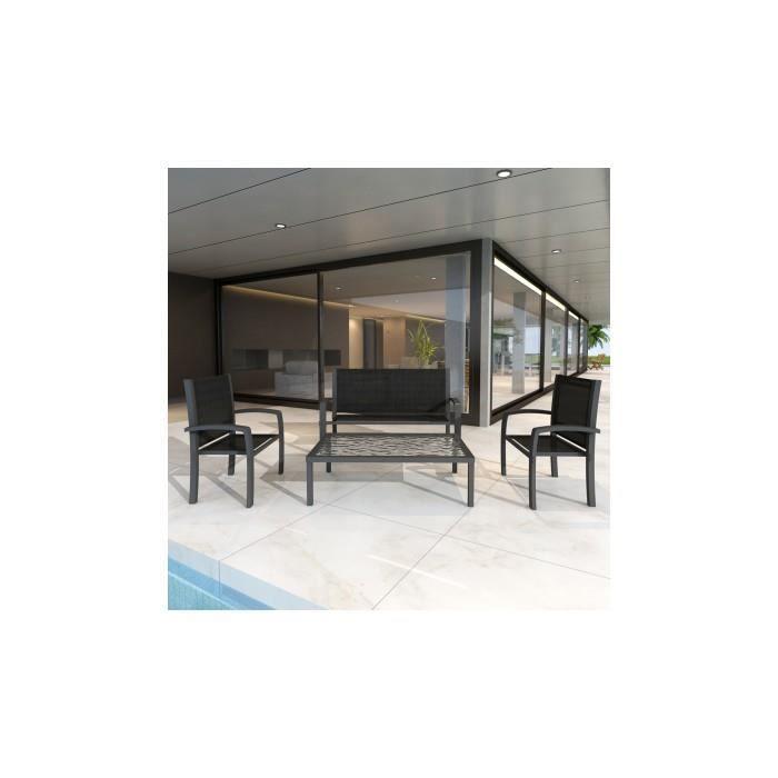 Ensemble meuble de jardin 3 chaises 1 table achat for Vente meuble jardin