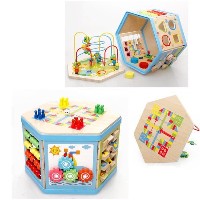Cube En Bois Bébé : cube en bois pour bebe achat vente jeux et jouets pas chers ~ Dallasstarsshop.com Idées de Décoration