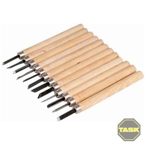 jeu de 12 pi ces pour sculpture sur bois achat vente couteaux de bricolage cdiscount. Black Bedroom Furniture Sets. Home Design Ideas