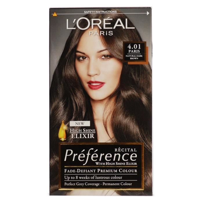 coloration loreal recital prfrence couleurs chatains e - L Oreal Coloration Chocolat