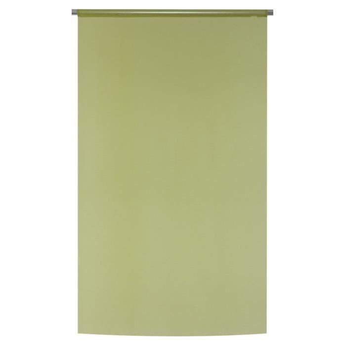 vitrage 90x160 passe tringle vert achat vente rideau voilage vitrage 90x160 passe tringl. Black Bedroom Furniture Sets. Home Design Ideas