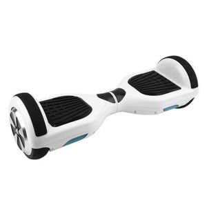 HOVERBOARD Gyropode electrique blanc 6.5 pouces bluetooth