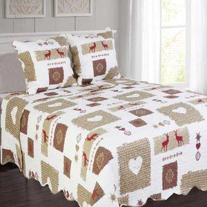 couvre lit montagne achat vente couvre lit montagne. Black Bedroom Furniture Sets. Home Design Ideas