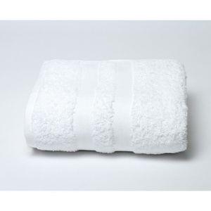 drap de bain 100 x 150 blanc achat vente drap de bain 100 x 150 blanc pas. Black Bedroom Furniture Sets. Home Design Ideas