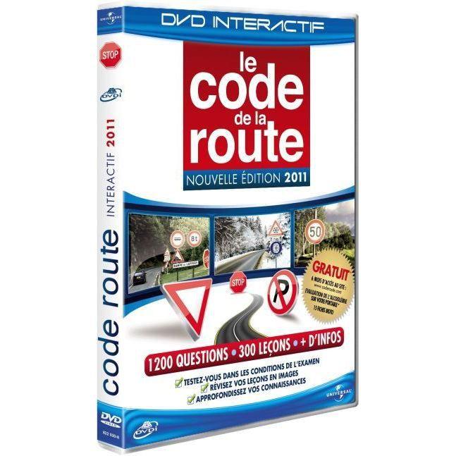 dvd le code de la route dition 2011 en dvd int ractif pas cher cdiscount. Black Bedroom Furniture Sets. Home Design Ideas