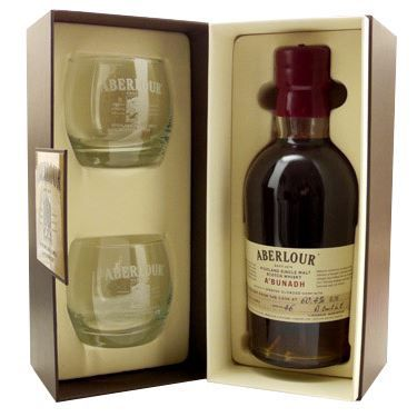 coffret whisky aberlour a bunadh avec 2 verres achat vente coffret cadeau alcool coffret. Black Bedroom Furniture Sets. Home Design Ideas