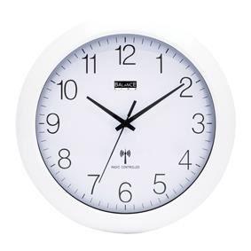 horloge murale radio pilotee achat vente horloge murale radio pilotee pas cher les soldes. Black Bedroom Furniture Sets. Home Design Ideas