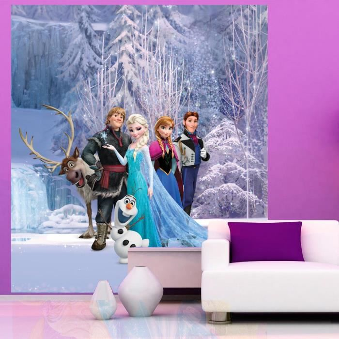 papier peint xl la reine des neiges disney froz achat. Black Bedroom Furniture Sets. Home Design Ideas
