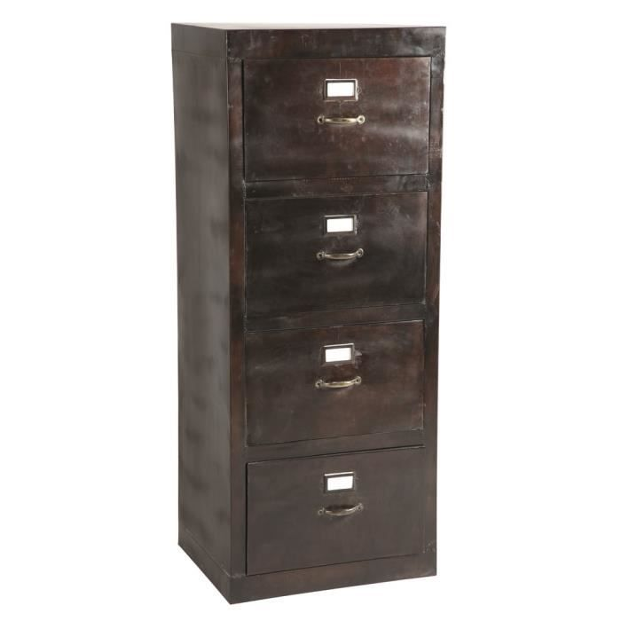 armoire 4 tiroirs swithome edison achat vente armoire de bureau armoire 4 tiroirs swithome. Black Bedroom Furniture Sets. Home Design Ideas