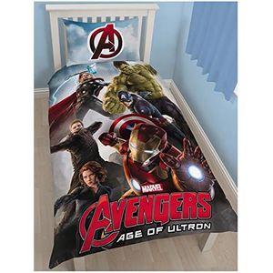 parure de lit enfant avengers achat vente parure de lit enfant avengers pas cher cdiscount. Black Bedroom Furniture Sets. Home Design Ideas