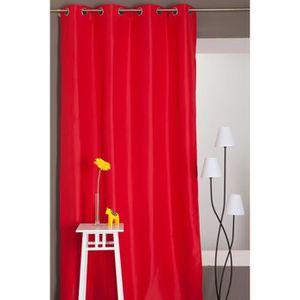 rideau occultant thermique achat vente rideau occultant thermique pas cher cdiscount. Black Bedroom Furniture Sets. Home Design Ideas