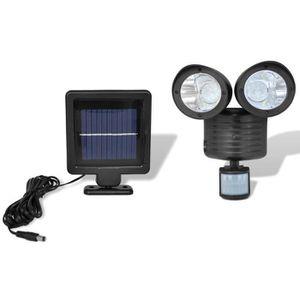 projecteur solaire detecteur achat vente projecteur solaire detecteur pas cher cdiscount. Black Bedroom Furniture Sets. Home Design Ideas
