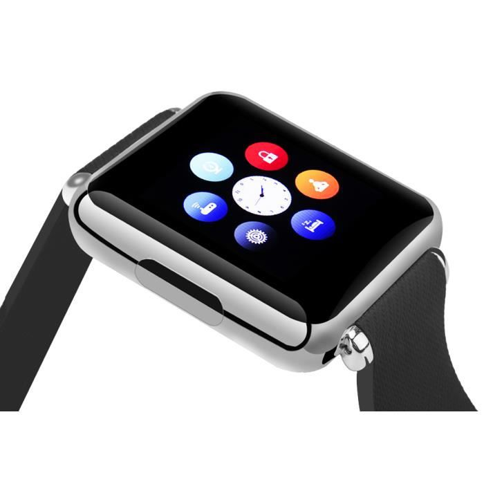 montre connect e pour apple et android watch for apple. Black Bedroom Furniture Sets. Home Design Ideas