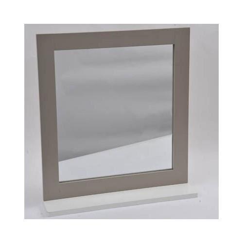 Miroir avec tablette achat vente miroir salle de bain - Miroir tablette salle de bain ...